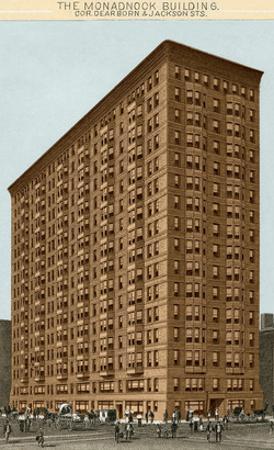 Monadnock Building, Chicago, Illinois