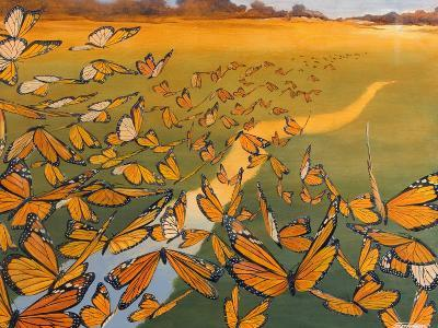 Monarch Migration-Fred Szatkowski-Art Print