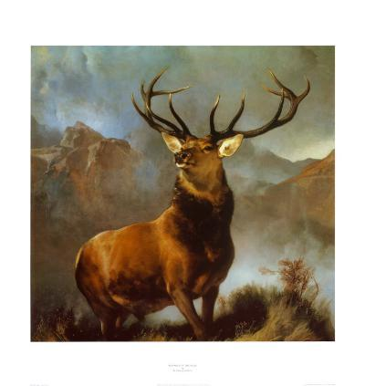 Monarch of the Glen-Edwin Henry Landseer-Art Print