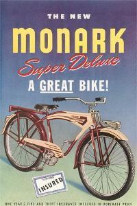 Monark Bike Ad