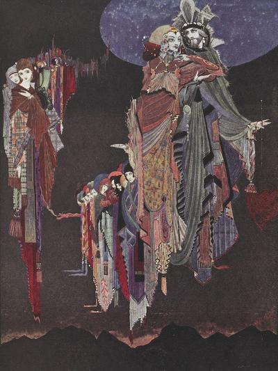 Monas and Una-Harry Clarke-Giclee Print