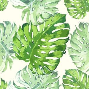 Vector Illustration with Tropical Leaves by Monash