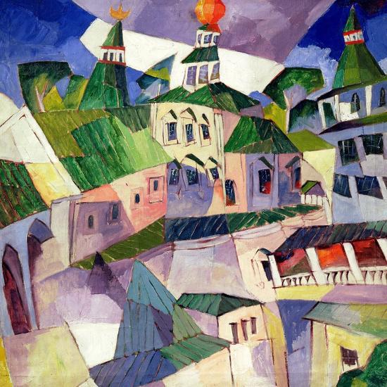 Monastery, 1926-Aristarkh Vasilievic Lentulov-Giclee Print