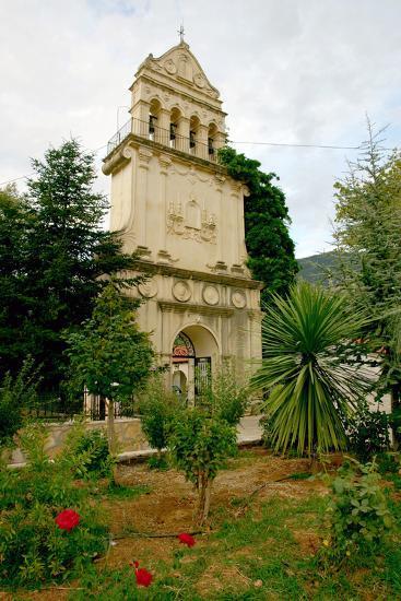 Monastery of Agios Gerasimos, Kefalonia, Greece-Peter Thompson-Photographic Print