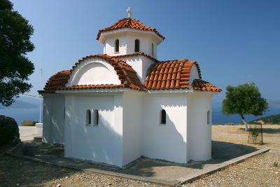 Monastery of Agrilion Church, Kefalonia, Greece-Peter Thompson-Photographic Print