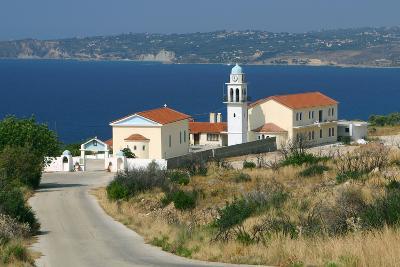 Monastery of Sissia, Kefalonia, Greece-Peter Thompson-Photographic Print