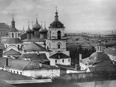 Monastery of St John Chrysostom, Moscow, Russia, 1882- Scherer Nabholz & Co-Photographic Print