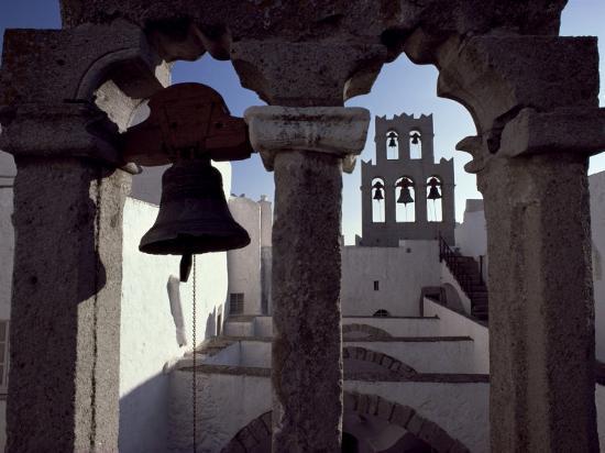 Monastery of St. John, Patmos, Dodecanese Islands, Greece-David Beatty-Photographic Print