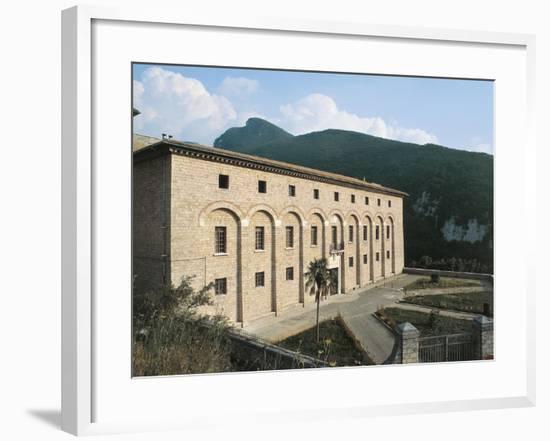 Monastery of St Scholastica, Subiaco, Italy, 6th Century--Framed Giclee Print