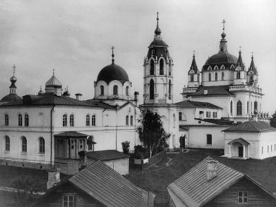 Monastery of the Immaculate Conception, Moscow, Russia, 1881- Scherer Nabholz & Co-Photographic Print