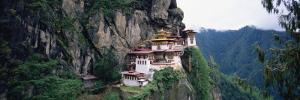 Monastery on a Cliff, Taktshang Monastery, Paro, Bhutan
