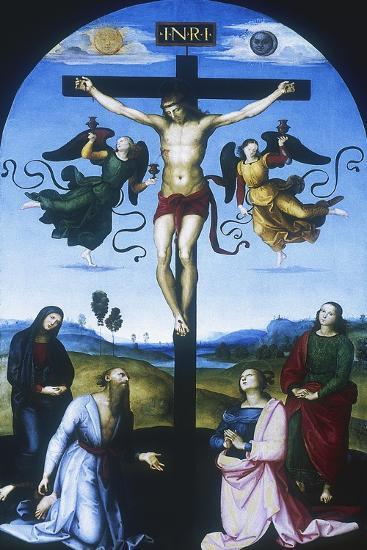 Mond Crucifixion, C1530-Raphael-Giclee Print
