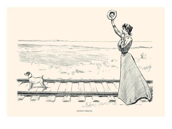 Monday Morning-Charles Dana Gibson-Art Print