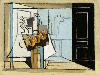 Monday, the Open Window; Lundi, La Fenetre Ouverte, 1929-Louis Marcoussis-Giclee Print