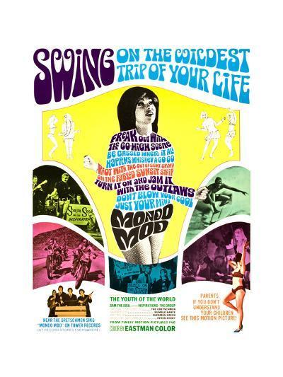 MONDO MOD, poster art, 1967--Art Print