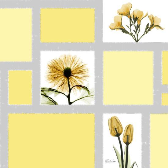 Mondrian Flowers 2-Albert Koetsier-Premium Giclee Print