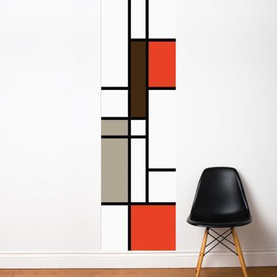 Mondrian Wall Decal--Wall Decal