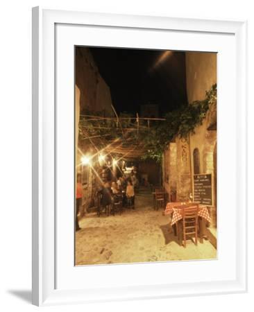 Monemvasia, Peloponnese, Greece-Oliviero Olivieri-Framed Photographic Print