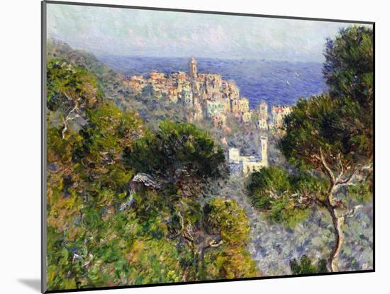 Monet: Bordighera, 1884-Claude Monet-Mounted Giclee Print