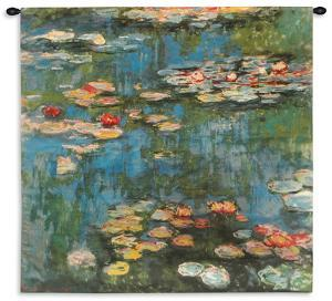 Water Lilies (Nymph), c.1916 Wall Tapestry - Large by Monet Claude