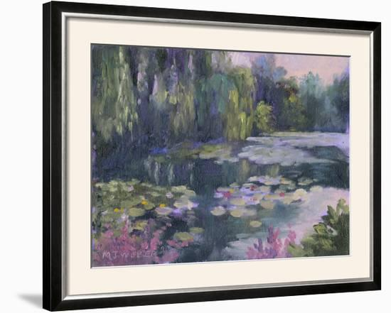Monet's Garden II-Mary Jean Weber-Framed Photographic Print