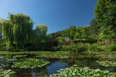 Monet's House Behind the Waterlily Pond, Giverny, Normandy, France, Europe-James Strachan-Photographic Print