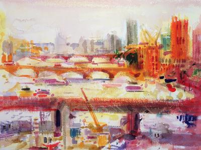 Monet's Muse, 2002-Peter Graham-Giclee Print