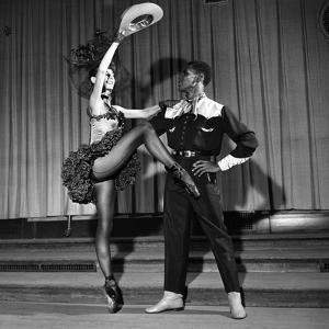 Arthur Mitchell, Tanaquil LeClercq - 1955 by Moneta Sleet Jr.