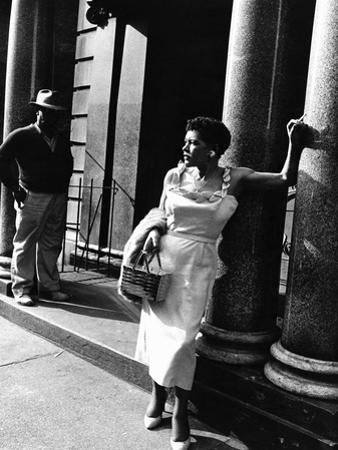 Billie Holiday by Moneta Sleet Jr.