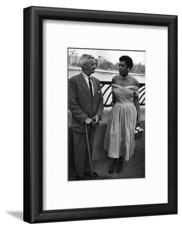 Billie Holliday and Author William Faulkner - 1956