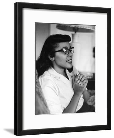 Civil Rights Icon Coretta Scott King, 1958