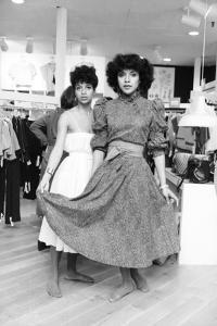 Debbie Allen, Phylicia Rashad by Moneta Sleet Jr.