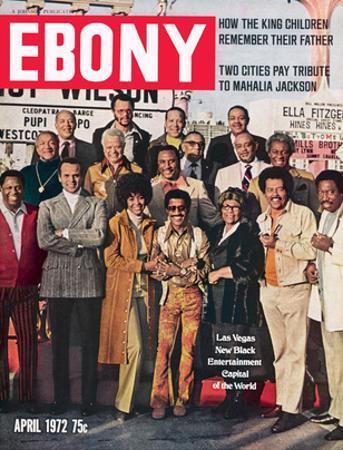 Ebony April 1972 by Moneta Sleet Jr.
