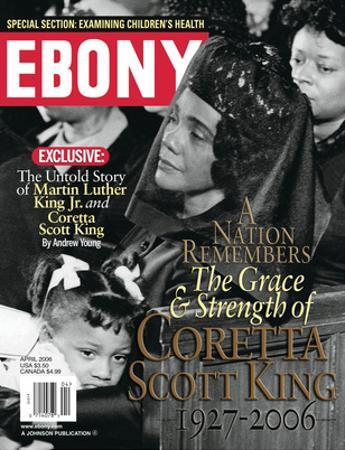 Ebony April 2006 by Moneta Sleet Jr.