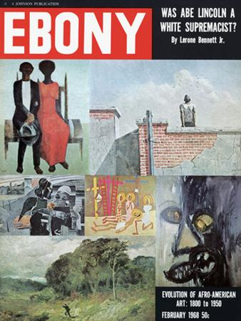 Ebony February 1968 by Moneta Sleet Jr.