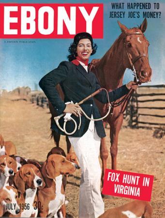 Ebony July 1956 by Moneta Sleet Jr.