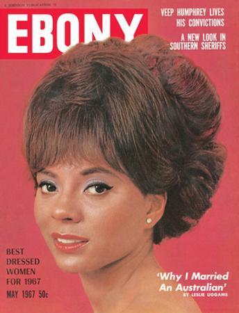 Ebony May 1967 by Moneta Sleet Jr.