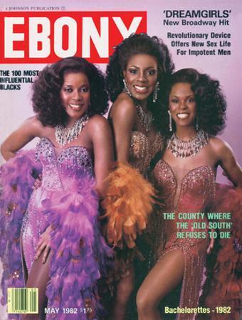 Ebony May 1982 by Moneta Sleet Jr.