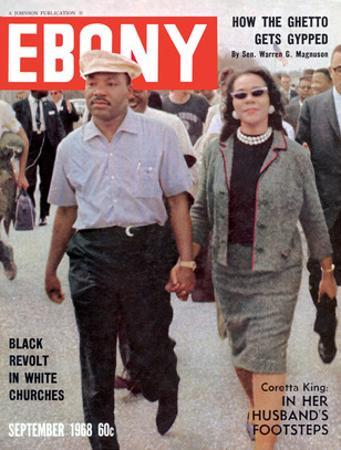 Ebony September 1968 by Moneta Sleet Jr.