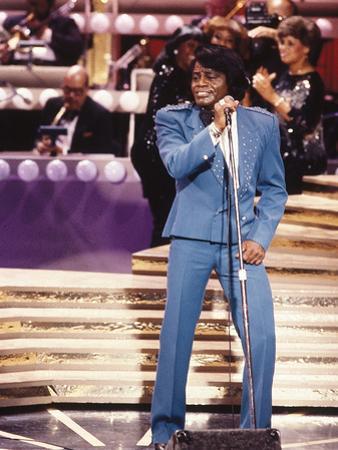 James Brown Performing by Moneta Sleet Jr.