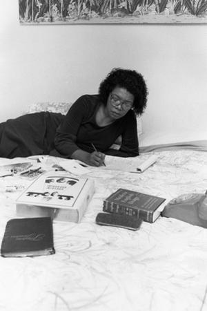 Maya Angelou by Moneta Sleet Jr.