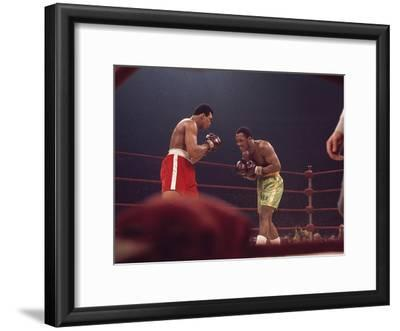 """Muhammad Ali and Joe Frazier, """"Fight of the Year"""", March 8, 1971"""