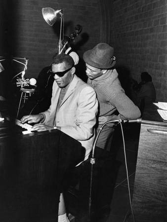 Ray Charles, Quincy Jones - 1961 by Moneta Sleet Jr.