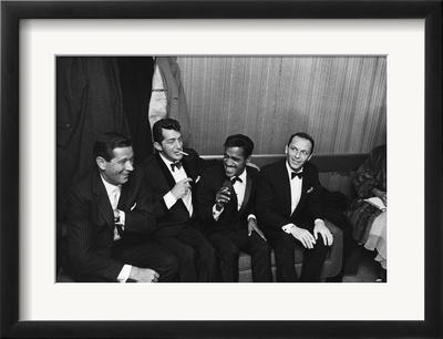 Sammy Davis Jr., Rat Pack - 1960 by Moneta Sleet Jr.