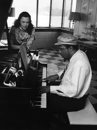 Thelonious Monk - 1964 by Moneta Sleet Jr.