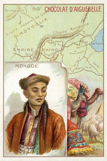 Mongol--Giclee Print