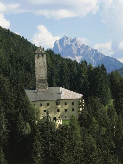 Monguelfo Castle (Schloss Welsperg)--Photographic Print