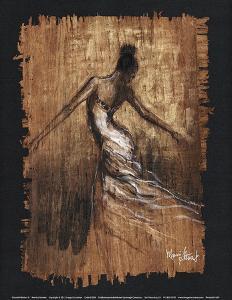 Graceful Motion III by Monica Stewart