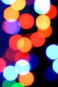 Bokeh Colors V by Monika Burkhart