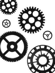 Gears I by Monika Burkhart